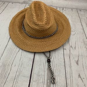 417bfd190dc46 Goodfellow straw wicker sun hat travel hiking
